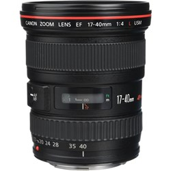 Canon EF 17-40mm F4 L Zoom Lens