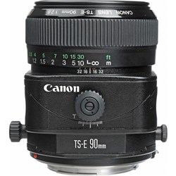 Canon TS-E 90mm F2.8 Tilt Shift Lens