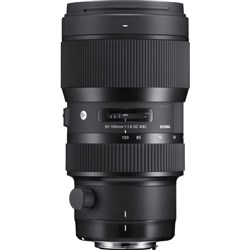 Sigma 50-100mm f1.8 DC HSM Art Lens For Nikon F