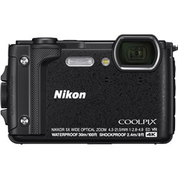 Nikon Coolpix W300 Waterproof Digital Camera - Black
