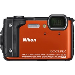 Nikon Coolpix W300 Waterproof Digital Camera - Orange