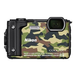 Nikon Coolpix W300 Waterproof Digital Camera - Camo