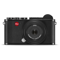 Leica Cl Digital Mirrorless Camera With 18mm F2.8 Lens - Black