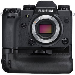 Fujifilm X-H1 Mirrorless Digital Camera Body With Bonus Battery Grip Kit