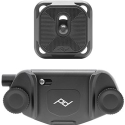 Peak Design Capture Clip Version 3 Black With Plate