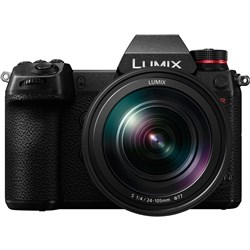Panasonic Lumix S1R + 24-105mm Lens Kit