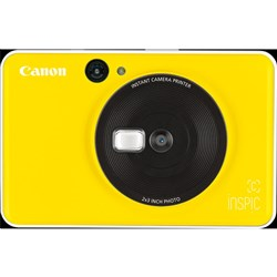 Canon Inspic C Yellow Instant Camera