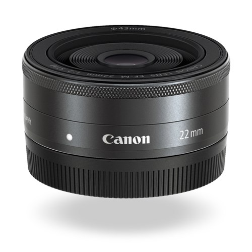 EF M 22mm f 2 STM Hero