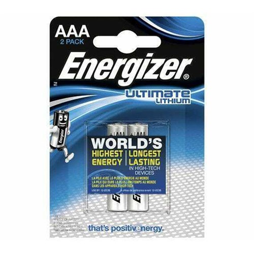 Energizer e2 AAA Lithium 2 Pack 001