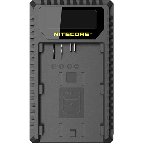 Nitecore Canon LP-E6N Dual Battery Charger 001