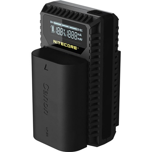 Nitecore Canon LP-E6N Dual Battery Charger 003