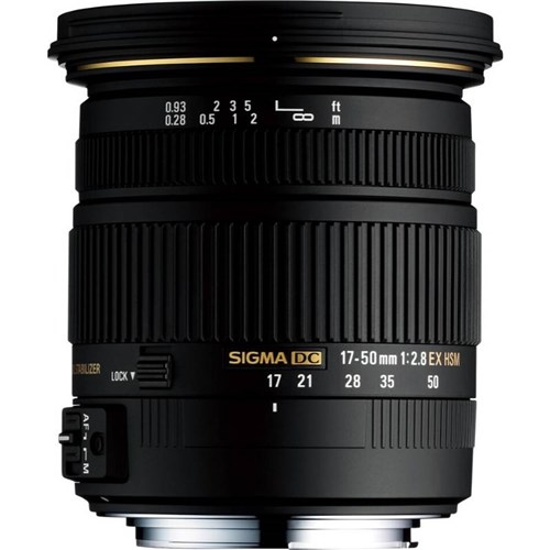 Sigma 17-50mm Diamonds