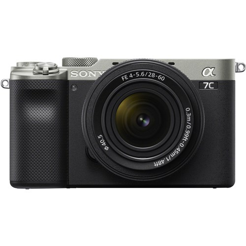 Sony Alpha A7C 28-60mm Silver Lens Kit 001