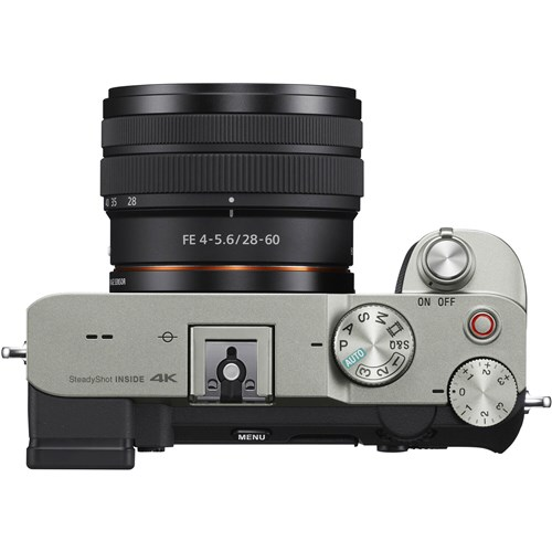 Sony Alpha A7C 28-60mm Silver Lens Kit 004