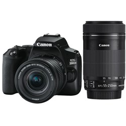 Canon EOS 200D MKII Twin Lens Kit 001