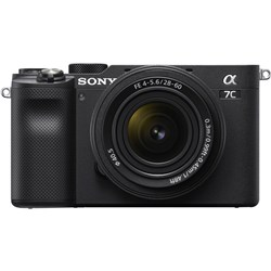 Sony Alpha A7C 28-60mm Black Lens Kit 001