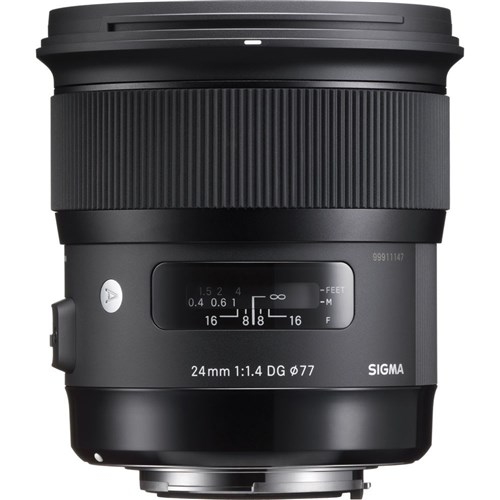 Sigma 24mm F1.4 DG HSM Art EOS Mount Lens