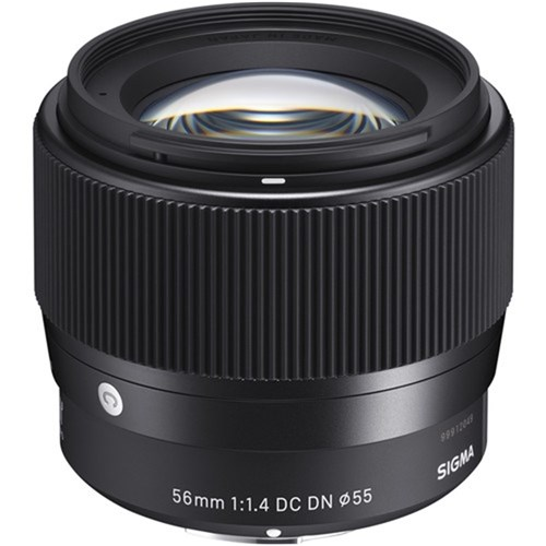 Sigma 56mm F1.4 DC DN Comtemporary for Sony E-Mount Lens
